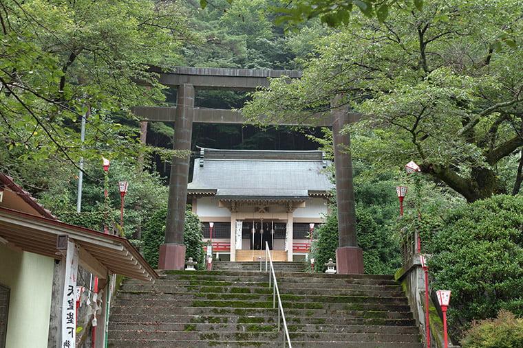 鬼怒川温泉の護国神社