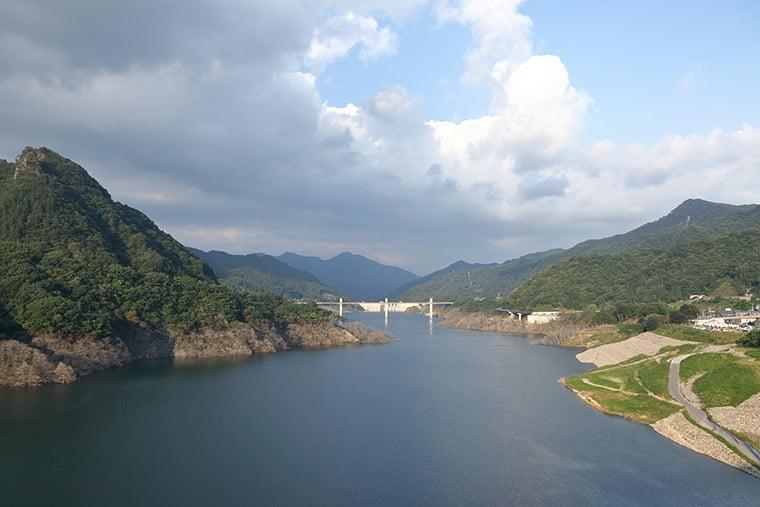 不動大橋からの眺望