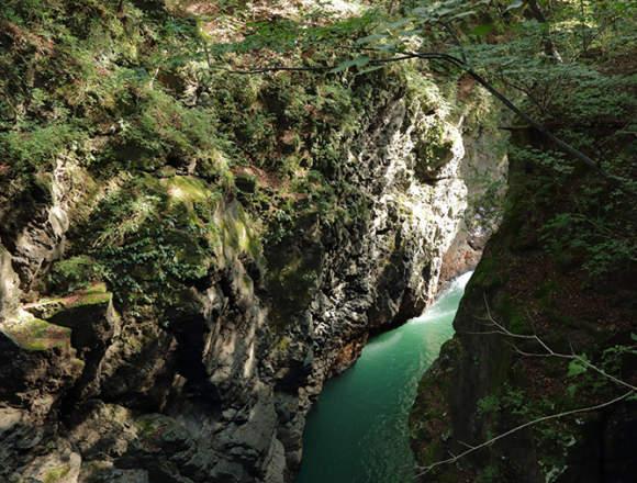吾妻峡の絶景