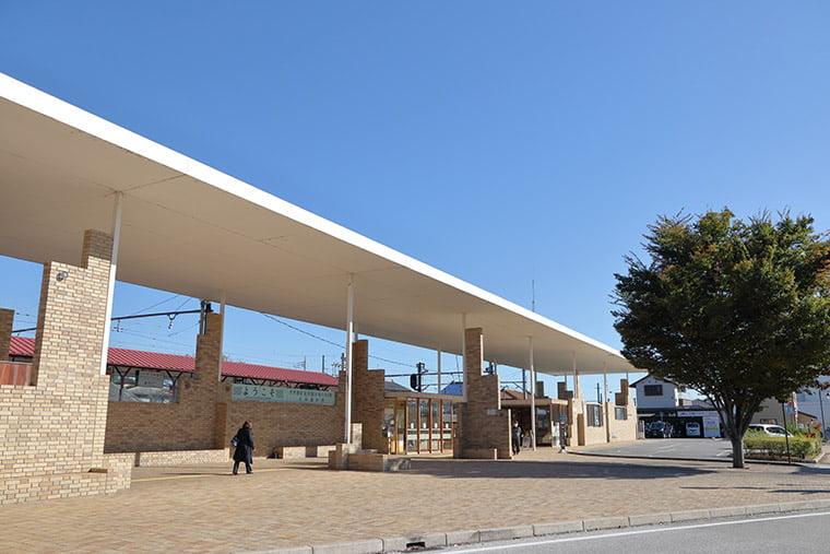 上州富岡駅の駅舎