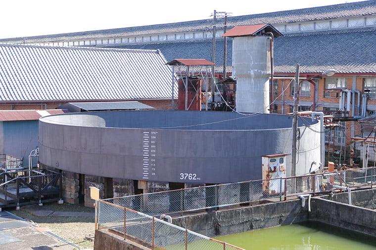 富岡製糸場の鉄水溜