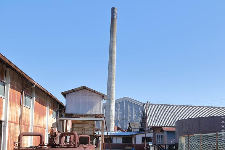 富岡製糸場の煙突