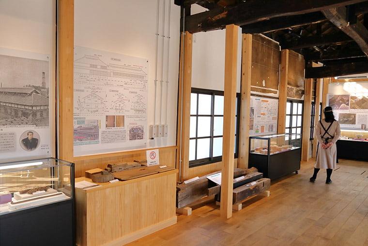旧韮塚製糸場の館内