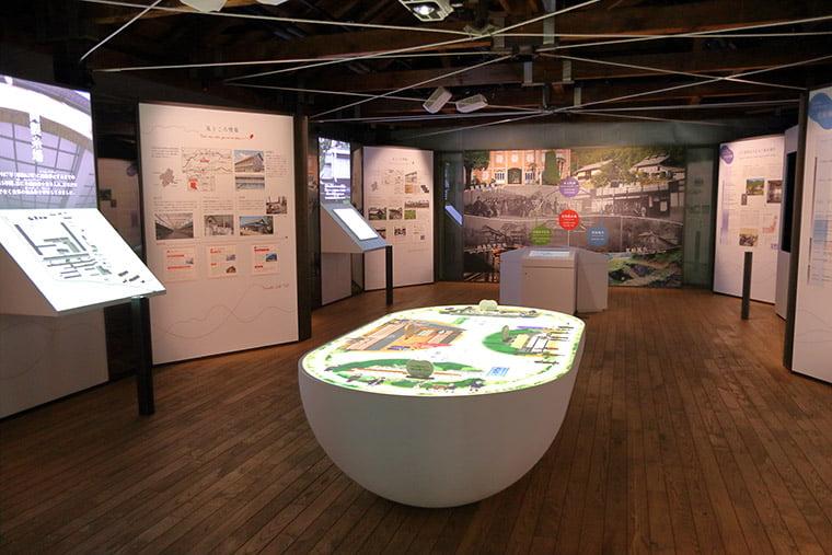 世界遺産センター(セカイト)の館内風景