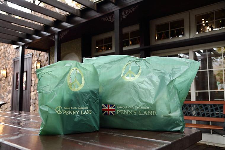 ペニーレインの買い物袋