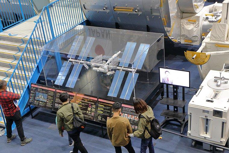 ISSの模型展示