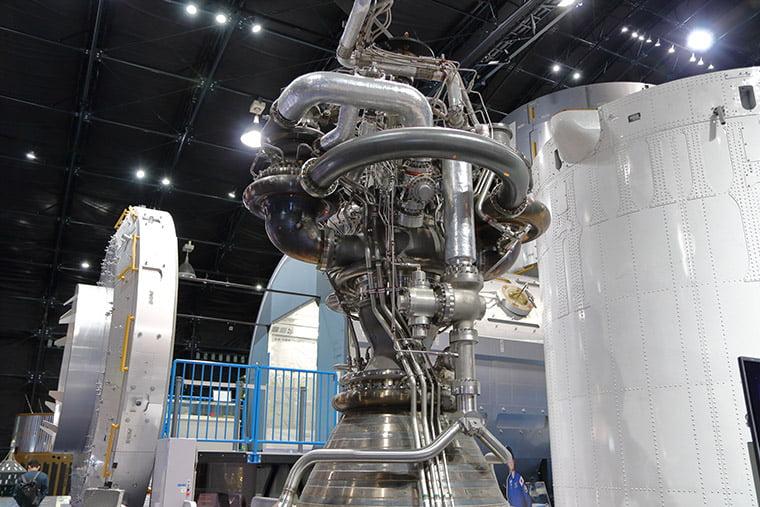 国産ロケットエンジン LE-7A