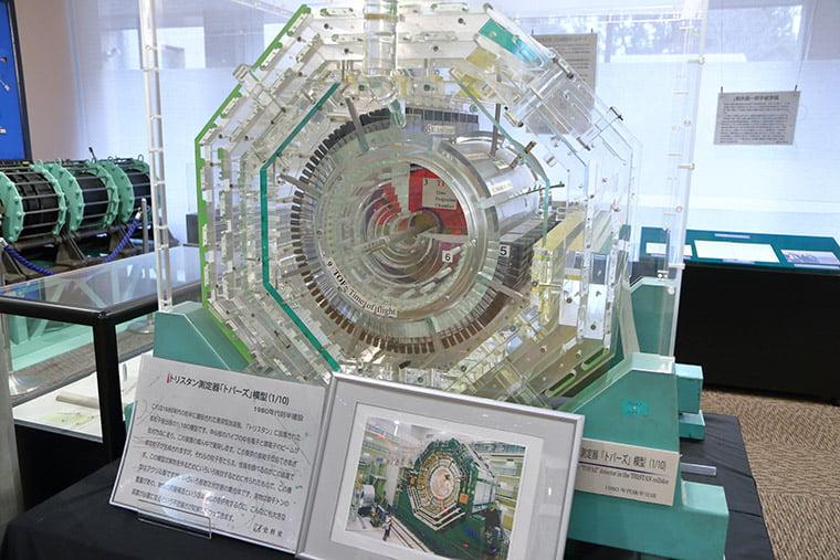 トリスタン測定器 トパーズの模型