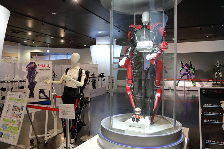 CYBERDYNE STUDIOの展示スペース