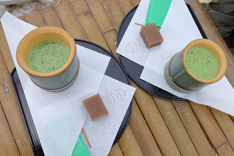若山農園のお抹茶