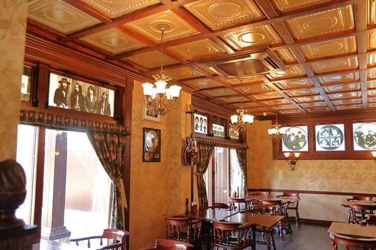 レストラン ペニーレインつくば店の店内風景