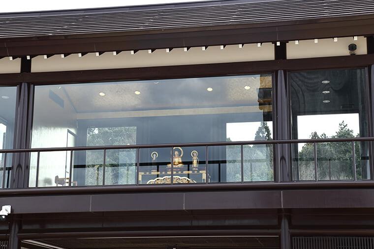 釈迦、弥陀、二尊の像