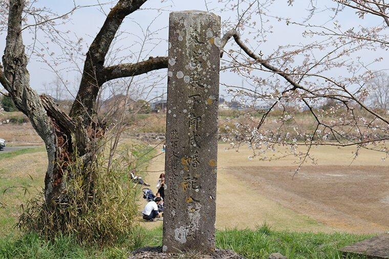 昭和天皇のご成婚記念植樹碑