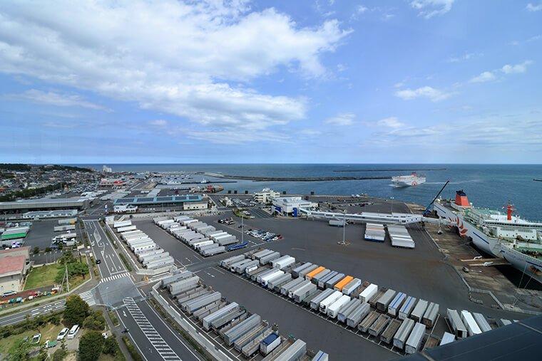 大洗港の風景