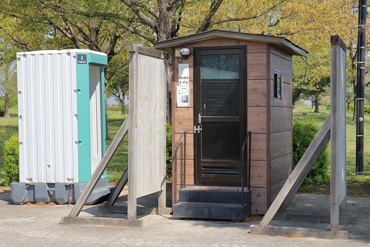 子供広場ゾーンのトイレ