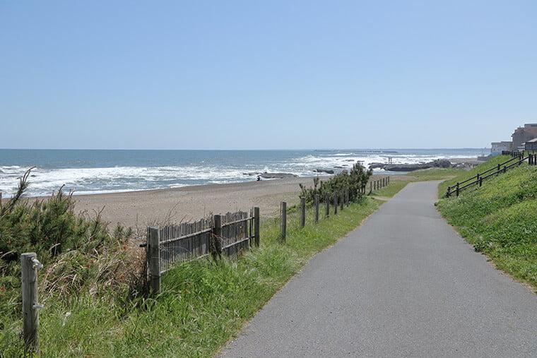 大洗海岸の風景