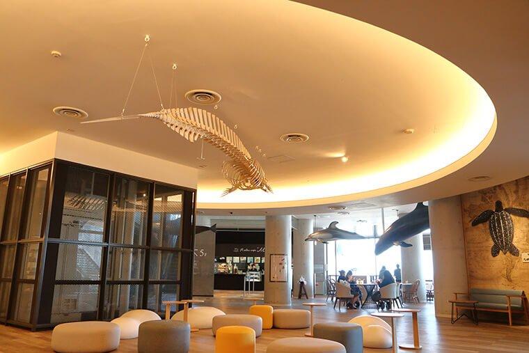 リラックスカフェ マーメイドのカフェスペース