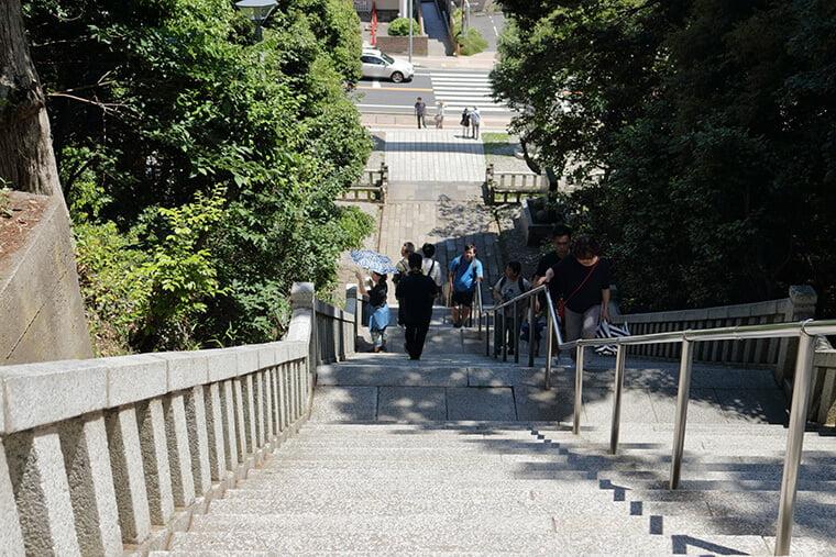 大洗磯前神社の参道