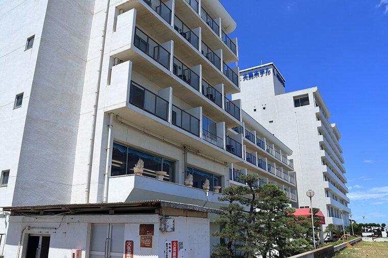 大洗のホテル