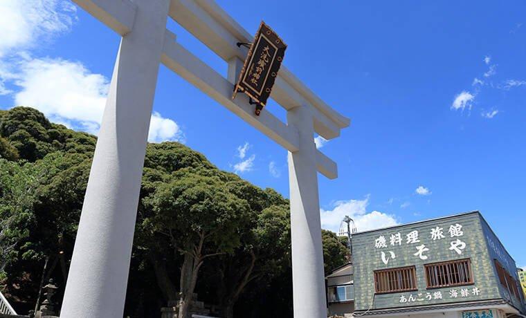 大洗磯前神社の鳥居