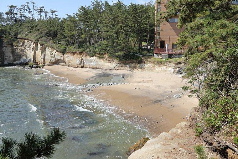 鵜の岬海岸