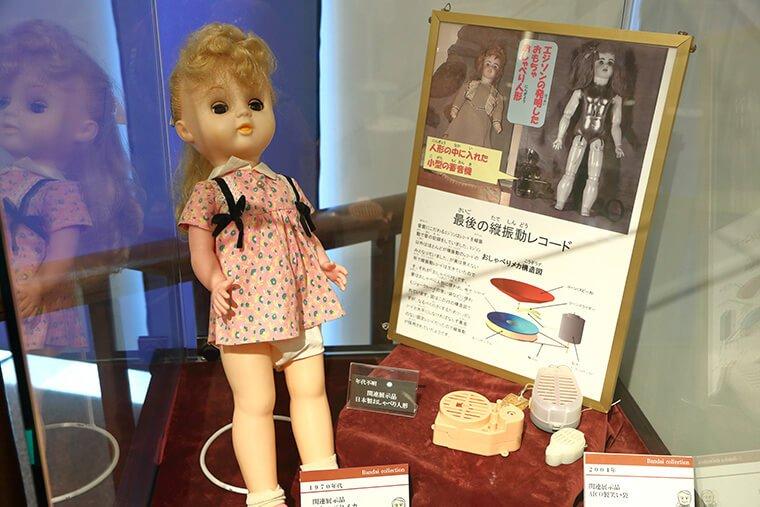 エジソンのおしゃべり人形
