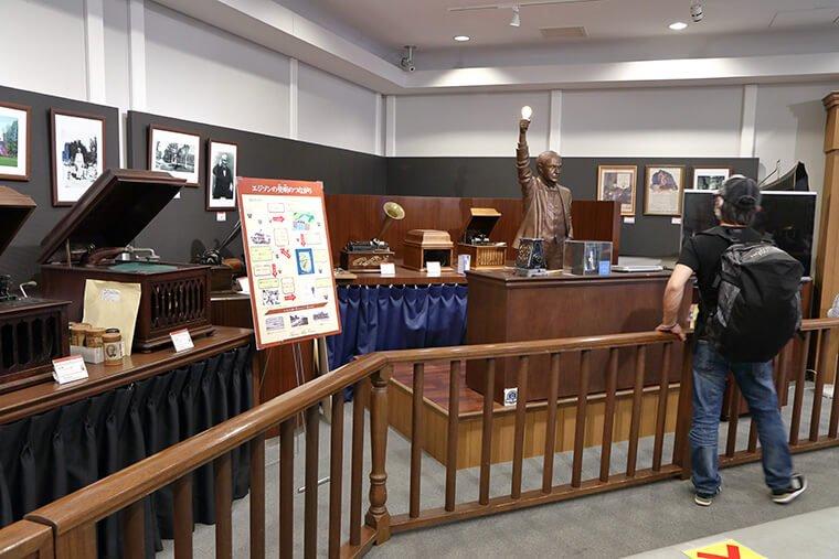 エジソンミュージアムのコレクション展示