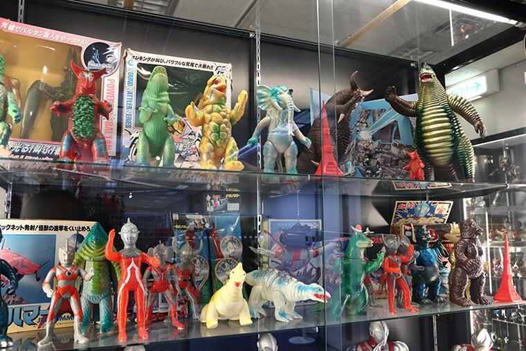 ウルトラマンシリーズのソフビ人形