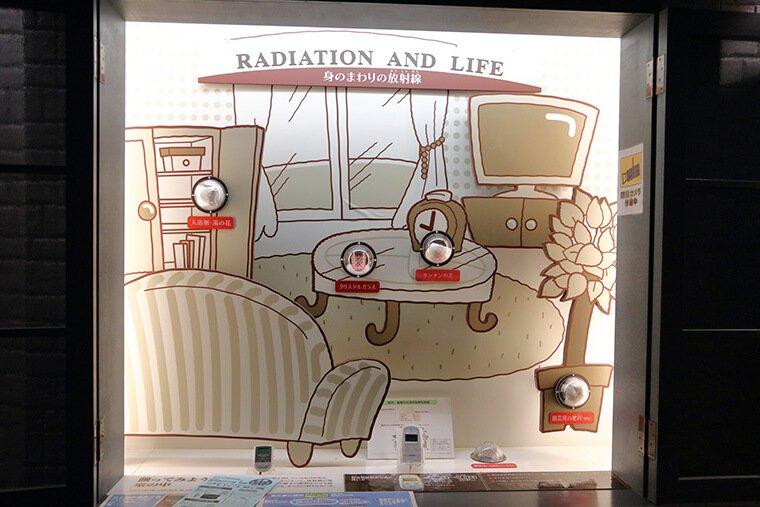 身の回りの放射線
