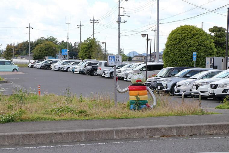 みぶハイウェーパーク・道の駅みぶの駐車場