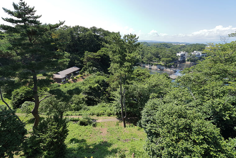 五浦岬公園からの絶景