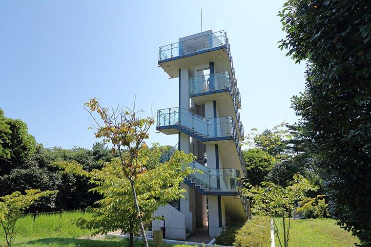 五浦岬公園の展望台