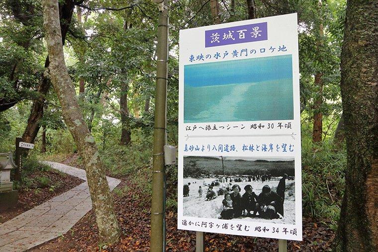 村松海岸への散策路