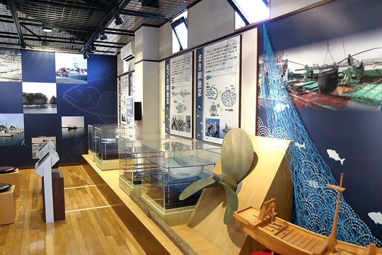 漁具の展示