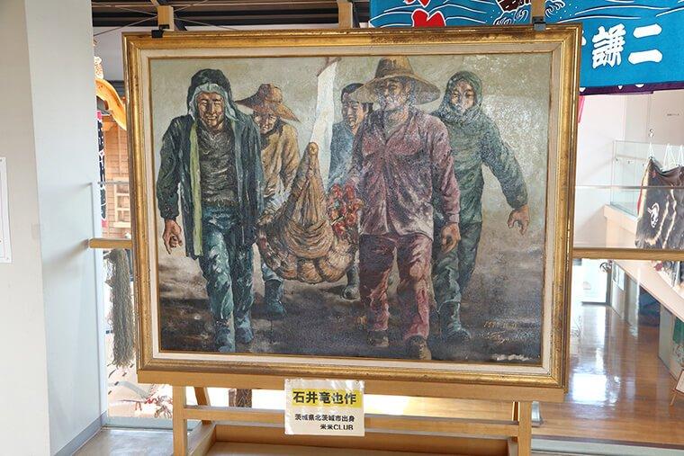 石井竜也さんの油絵作品