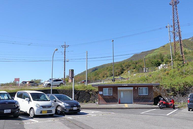 キスゲ平のP3駐車場