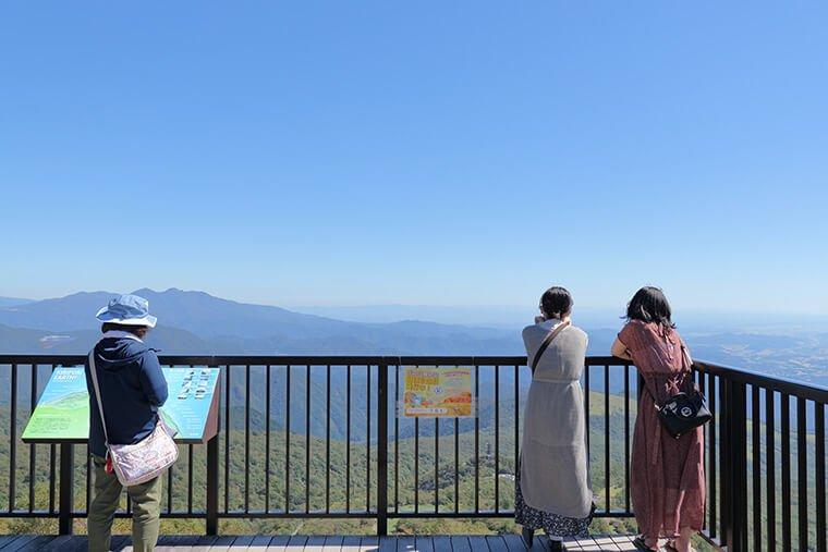 小丸山展望台からの眺望