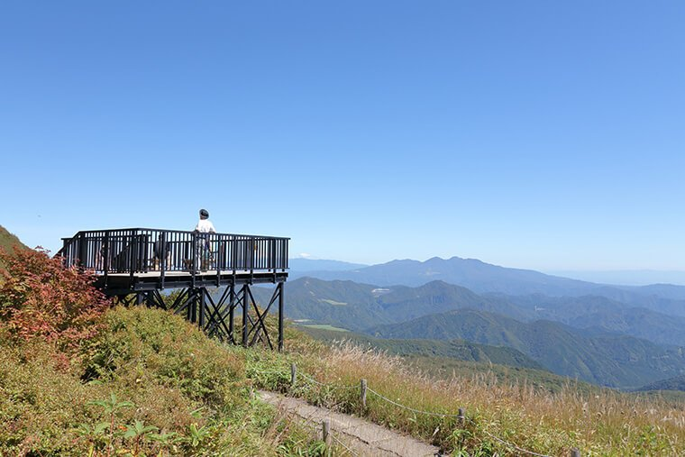 小丸山展望台の全景