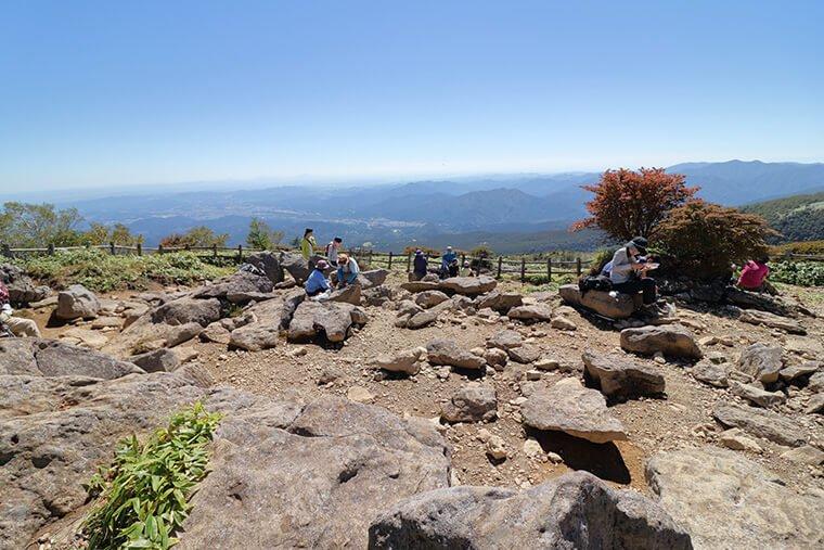 丸山山頂からの眺望